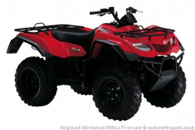 KingQuad 400 Manual Utility ATV