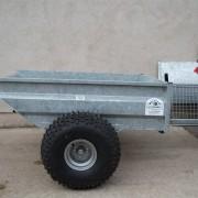 SWALEDALE TIPPING DUMP TRAILER-1
